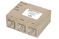 SPDT PIN Diode Switch Operating From 20 MHz to 1,000 MHz Up to 150 Watts (+51.8 dBm) and SMA