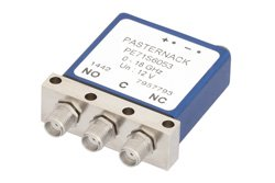 SPDT Electromechanical Relay Failsafe Switch, DC to 18 GHz, up to 240W, 12V, SMA