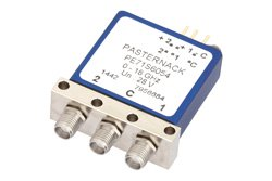 SPDT Electromechanical Relay Latching Switch, DC to 18 GHz, up to 240W, 28V Indicators, Self Cut Off, SMA