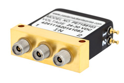 SPDT Electromechanical Relay Failsafe Switch, DC to 40 GHz, 10W, 28V, 2.92mm