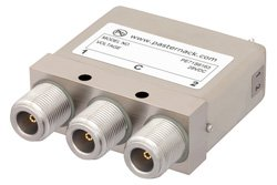 SPDT Electromechanical Relay Latching Switch, DC to 12.4 GHz, 160W, 28V Self Cut Off, Diodes, N