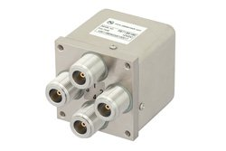 PE71S6166 - Transfer Electromechanical Relay Switch DC to 12.4 GHz, N, 50 Watts, 12V Control