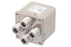 PE71S6167 - Transfer Electromechanical Relay Switch DC to 12.4 GHz, N, 50 Watts, 28V Control