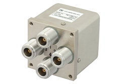 PE71S6174 - Transfer Electromechanical Relay Failsafe Switch DC to 12.4 GHz, N, 160 Watts, 12V Control