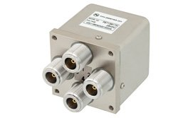 PE71S6175 - Transfer Electromechanical Relay Failsafe Switch DC to 12.4 GHz, N, 160 Watts, 28V Control