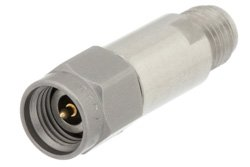 4 dB Fixed Attenuator, 2.92mm Male to 2.92mm Female Passivated Stainless Steel Body Rated to 2 Watts Up to 40 GHz