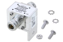 Type N F/F In/Out Coax RF Surge Protector, 1.5MHz - 700MHz, DC Block, 2kW, None, 3.5mJ, 50kA, Blocking Cap and Gas Tube