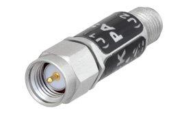PE8013 - Schottky Zero Bias Detector, SMA, Negative Video Out, +20 dBm max Pin, 10 MHz to 18.5 GHz