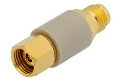 DC Block on Inner and Outer Conductor 2.4mm Male to 2.4mm Female Operating From 100 MHz to 50 GHz