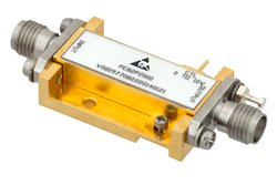 Analog Phase Shifter, 5 GHz to 18 GHz, With an Adjustable Phase of 40 Deg. Per GHz and SMA