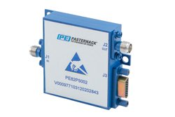 PE82P5002 - 8 Bit Programmable Phase Shifter, 6 GHz to 18 GHz, 360 Deg Phase Shift, 256 Steps and SMA