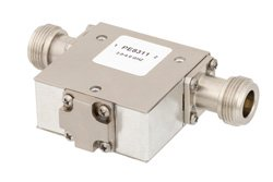 PE8311 - Isolator With 18 dB Isolation From 2 GHz to 4 GHz, 10 Watts And N Female