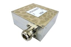 PE83IR003 - Isolator with 17 dB Isolation from 1 GHz to 2 GHz, 10 Watts and N Female