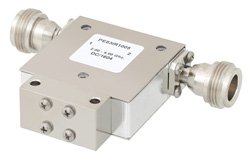 PE83IR1005 - High Power Isolator with 20 dB Isolation from 2 GHz to 4 GHz, 100 Watts and N Female