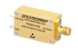 SMA Calibrated Noise Source Module, Output ENR of 23 dB, +28 VDC, 1 GHz to 18 GHz