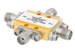 IQ Mixer Operating From 6 GHz to 10 GHz With an IF Range From DC to 3.5 GHz And LO Power of +19 dBm, Field Replaceable SMA