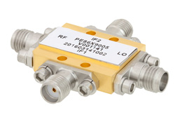 IQ Mixer Operating From 20 GHz to 31 GHz With an IF Range From DC to 4.5 GHz And LO Power of +17 dBm, Field Replaceable 2.92mm