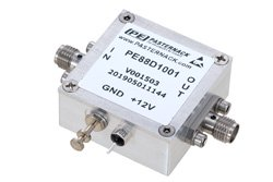 Frequency Divider, Divide by 10 Prescaler Module, 100 MHz to 12.5 GHz, SMA