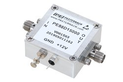 Frequency Divider, Divide by 15 Prescaler Module, 100 MHz to 7 GHz, SMA