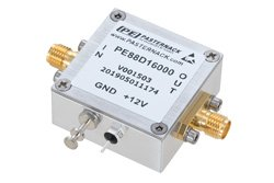Frequency Divider, Divide by 16 Prescaler Module, 400 MHz to 4 GHz, SMA