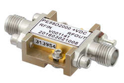 Frequency Divider, Divide by 2 Prescaler Module, 500 MHz to 18 GHz, Field Replaceable SMA