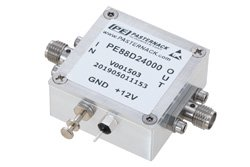 Frequency Divider, Divide by 24 Prescaler Module, 100 MHz to 12 GHz, SMA