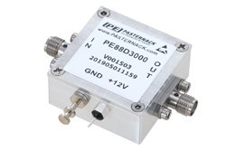 Frequency Divider, Divide by 3 Prescaler Module, 100 MHz to 7 GHz, SMA