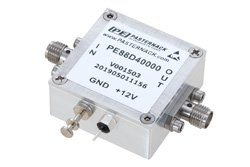 Frequency Divider, Divide by 40 Prescaler Module, 100 MHz to 12 GHz, SMA