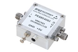 Frequency Divider, Divide by 4 Prescaler Module, 100 MHz to 20 GHz, SMA