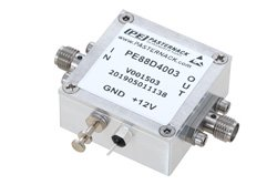 Frequency Divider, Divide by 4 Prescaler Module, 100 MHz to 13 GHz, SMA