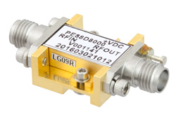 Frequency Divider, Divide by 8 Prescaler Module, 500 MHz to 18 GHz, Field Replaceable SMA