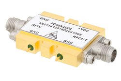 2x Frequency Multiplier Module, 32 GHz to 46 GHz Output Frequency, +8 dBm Output Power, Field Replaceable 2.92mm