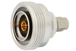 Low PIM SMA Male to 7/16 DIN Female Adapter, Low VSWR