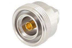 Low PIM SMA Female to 7/16 DIN Female Adapter, Low VSWR