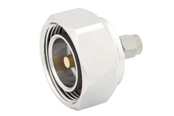 Low PIM SMA Male to 7/16 DIN Male Adapter, Low VSWR