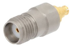Precision SMA Female to Mini SMP Female Adapter