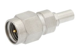 Precision SMA Male to Mini SMP Male Adapter Full Detent