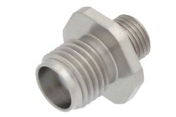Precision SMA Female to SMP Male Bulkhead Adapter Full Detent