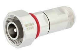 PE91093 - Low PIM 4.1/9.5 Mini DIN Male to N Female Adapter