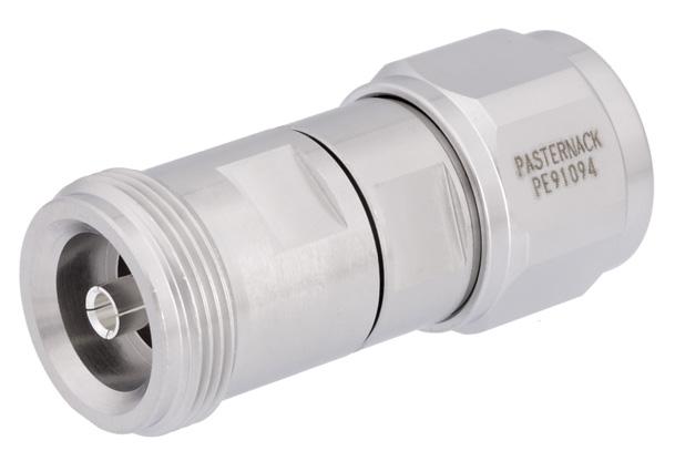 PE91094 - Low PIM 4.1/9.5 Mini DIN Female to N Male Adapter
