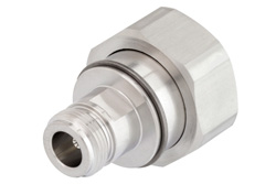 7/16 DIN Male to N Female Adapter, IP67 Mated