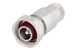 PE91217 - 4.1/9.5 Mini DIN Male to N Female Adapter, IP67 Mated