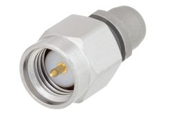 Slide-On BMA Plug to SMA Male Adapter