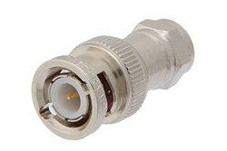 PE9152 - 50 Ohm BNC Male to 75 Ohm F Male Adapter