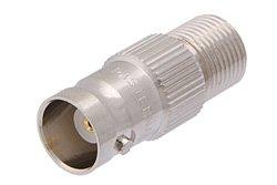 PE9153 - 50 Ohm BNC Female to 75 Ohm F Female Adapter