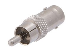 PE9158 - 50 Ohm BNC Female to 75 Ohm RCA Plug Adapter