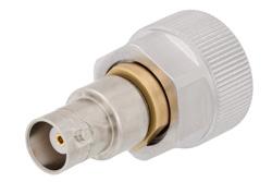 PE9220 - Precision 7mm Sexless to BNC Female Adapter