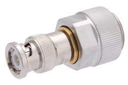 PE9221 - Precision 7mm to BNC Male Adapter