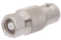 PE9236 - 50 Ohm BNC Female to 75 Ohm SMC Plug Adapter