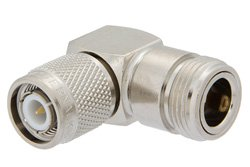 PE9263 - N Female to TNC Male Right Angle Adapter